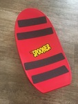 0581: Red Freestyle Spooner Board