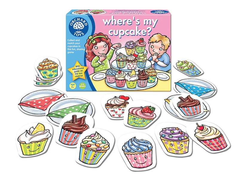 P0050: Orchard Toys Where's my Cupcake Game