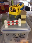 0161: Lego Cement Truck