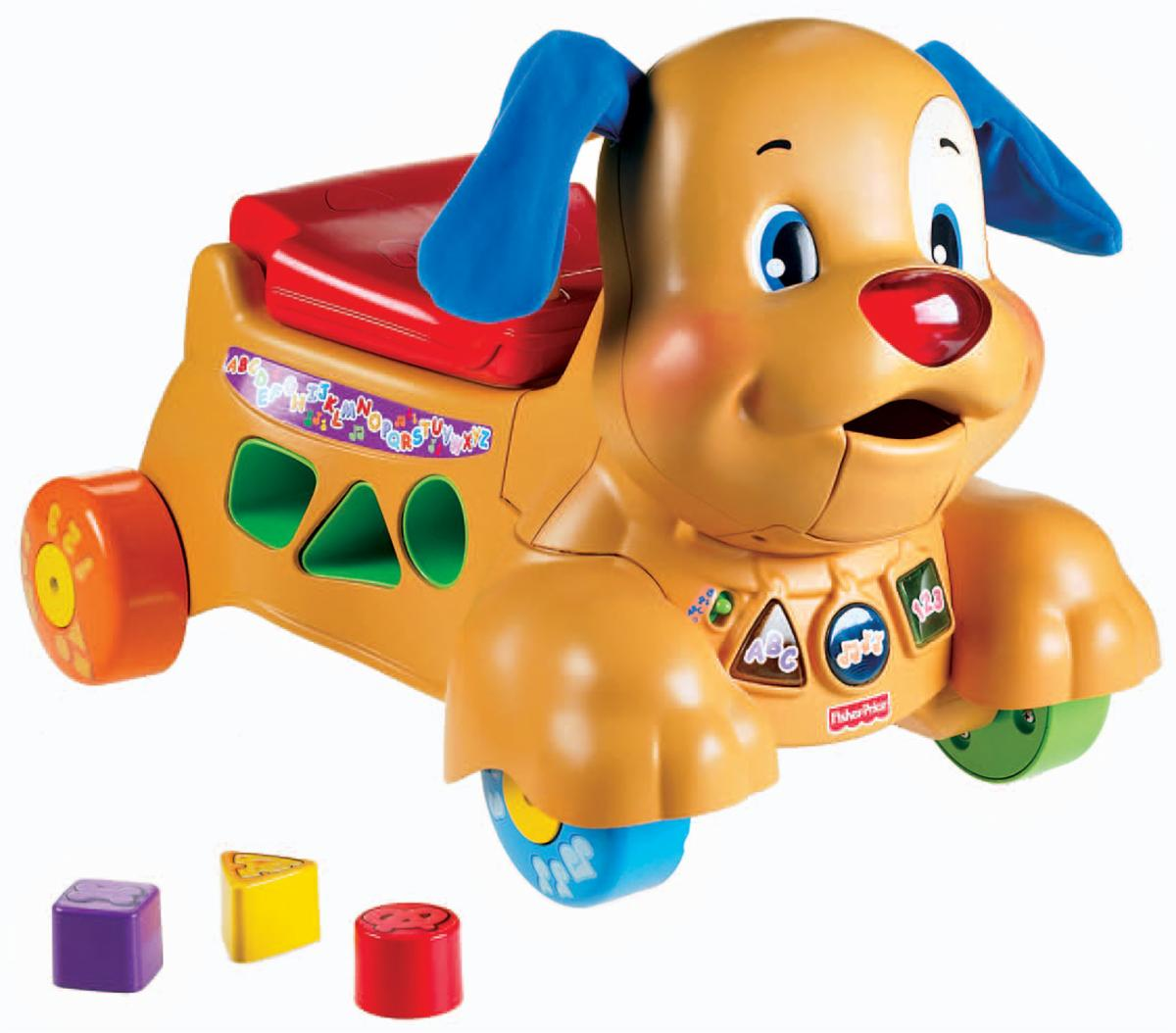 0016: Fisher Price Stride To Ride Puppy