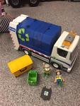 0225: Playmobil Garbage Truck