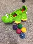 0283: Pull along crocodile