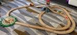 0323: Brio Mountain Action Train Set