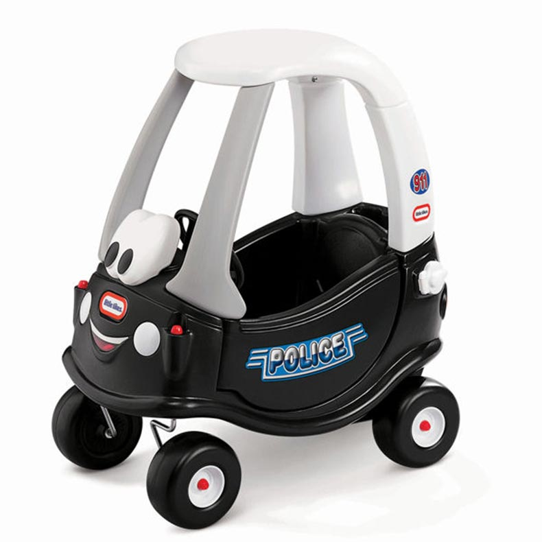 0005: Little Tikes Cozy Coupe Police Car