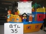 0035: Pirate Ship Mega Blocks