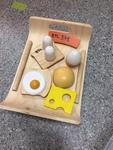 0378: Wooden Breakfast Tray