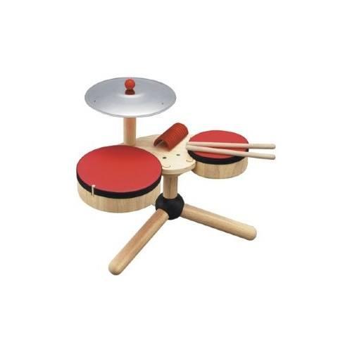 0383: Wooden Drum Kit
