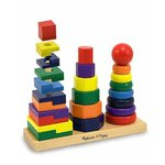 0409: Melissa and Doug Geometric Stacker