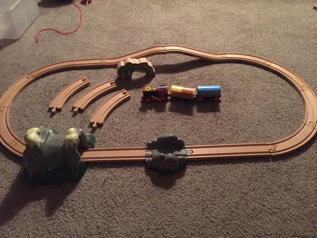 0428: Brio Mountain Action Train Set