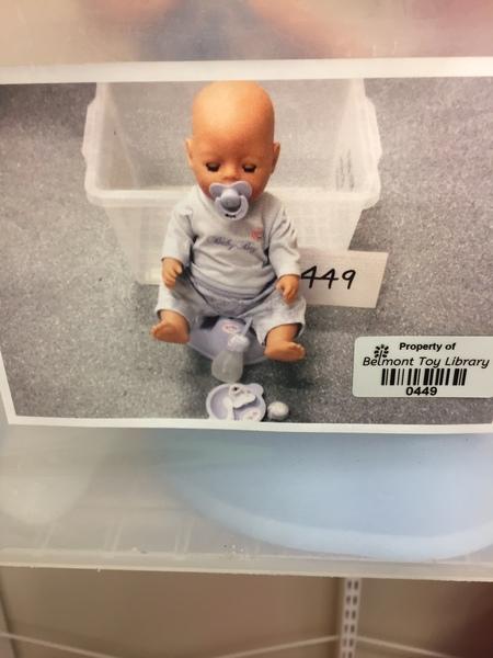 0449: Baby Born Boy Baby