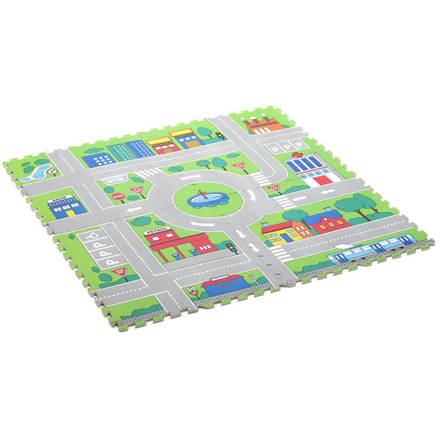 0909: Activity Floor Road Mats & Cars