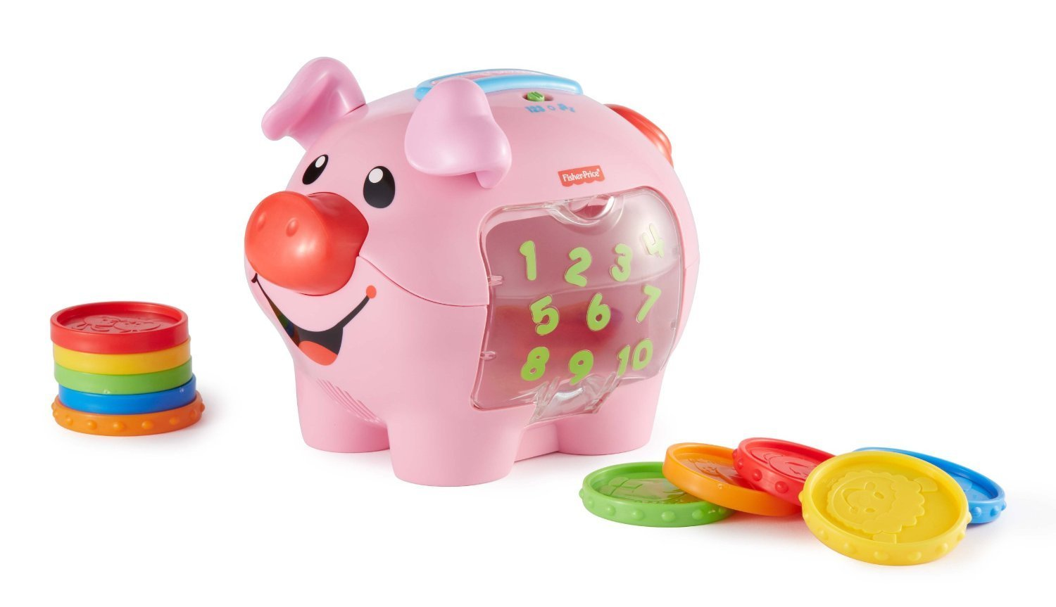 0910: Fisher Price Learning Piggy Bank