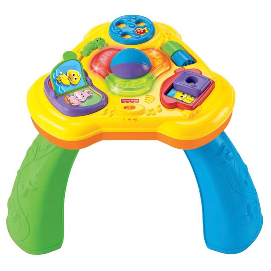 0917: Fisher Price Brilliant Basics Light & Sounds Activity Table