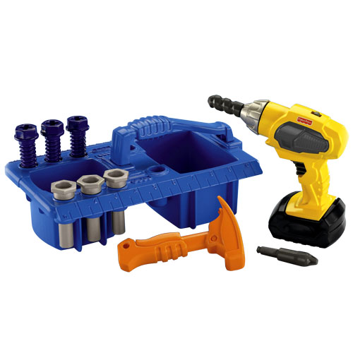 0954: Fisher Price Drillin Action Tool Set