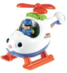 0957: Fisher Price Spin & Fly Helicopter