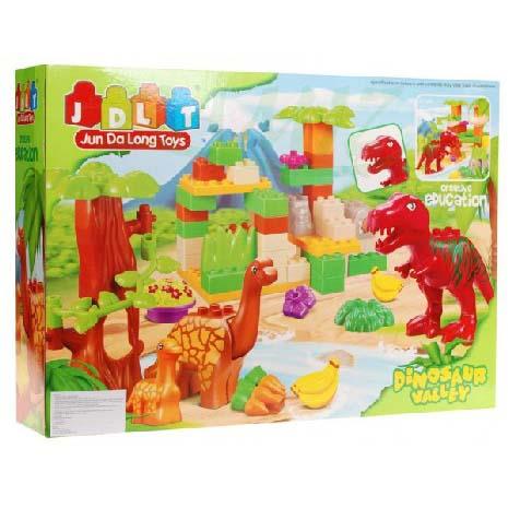 0960: Jun Da Long Toys Dinosaur Valley