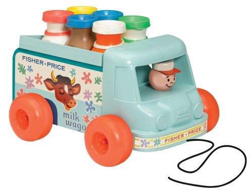 0962: Fisher Price Classics Milk Truck