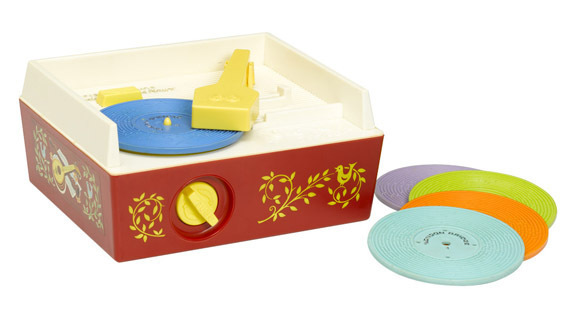 0974: Fisher Price Classics Vintage Record Player