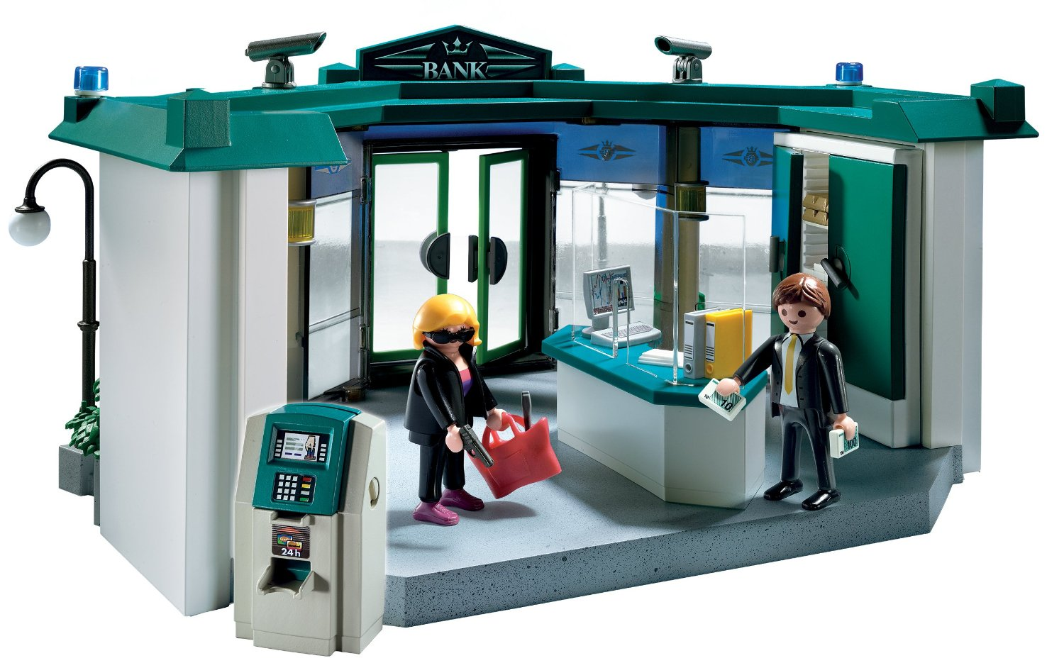 0975: Playmobil 5177 City Action Bank Robber