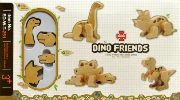 0982: Edtoy Dino Friends (Dinosaur building blocks)