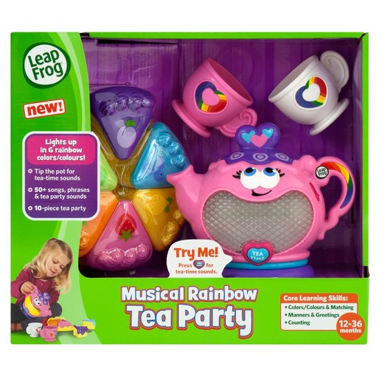 0986: Leap Frog Musical Rainbow Tea Party