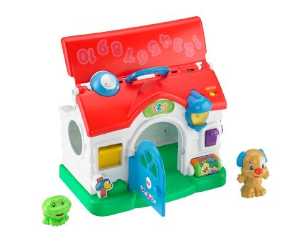 0995: Fisher Price Puppy's Learning Home