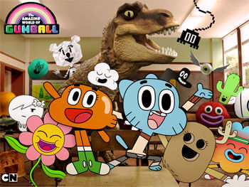 D019: The Amazing World of Gumball - Volume One