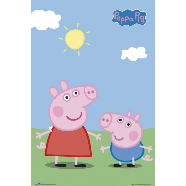 D0033: Peppa Pig -Piggy Back Pack Volume One