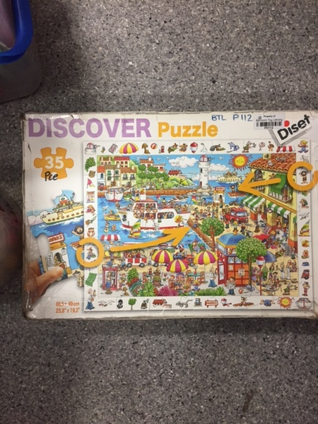 P112: Seaside Discover puzzle