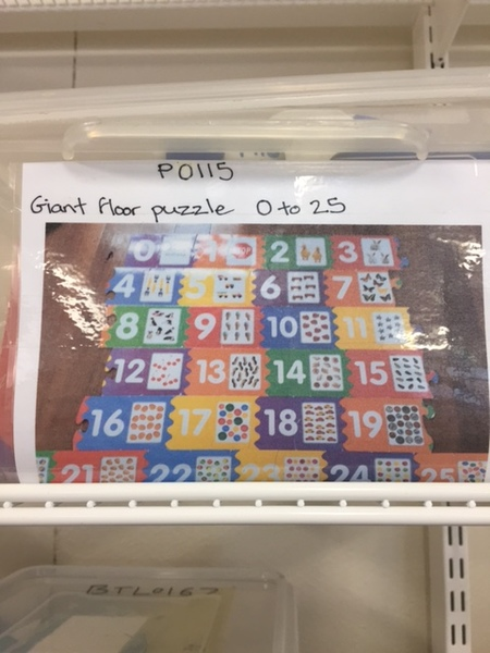 P115: Numbers giant puzzle