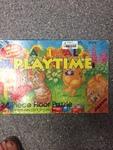 P119: Animal playtime floor puzzle