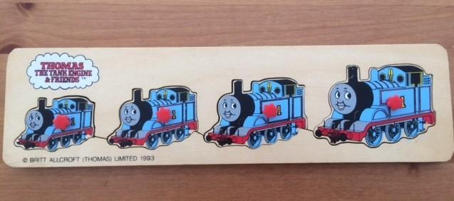 P0122: Thomas the Tank Engine Peg Puzzle