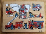 P0131: Fireman Scene