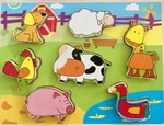 P149: Kaper Kidz Farm Animal Puzzle