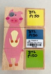 P0150: Little Wooden Toybox Wooden Cube Puzzles