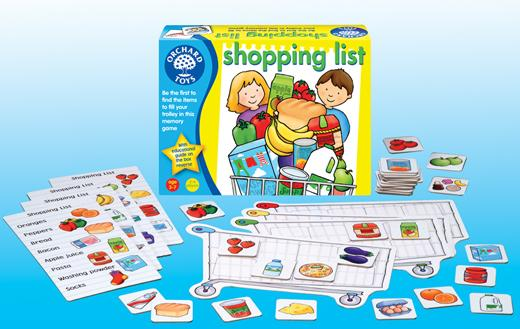 P0171: Orchard Toys 'Shopping List' Memory Game