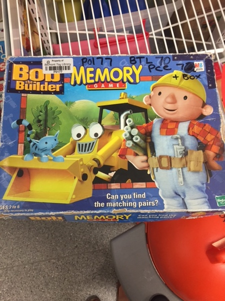 P177: Bob the Builder Memory Game