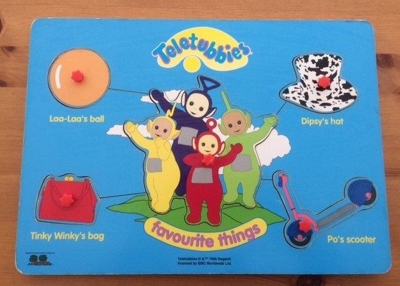 P0195: Teletubbies Puzzle