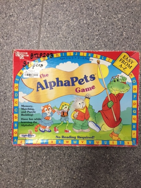 P203: The Alphapets Game