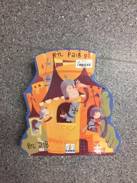 P218: Medieval castle Puzzle