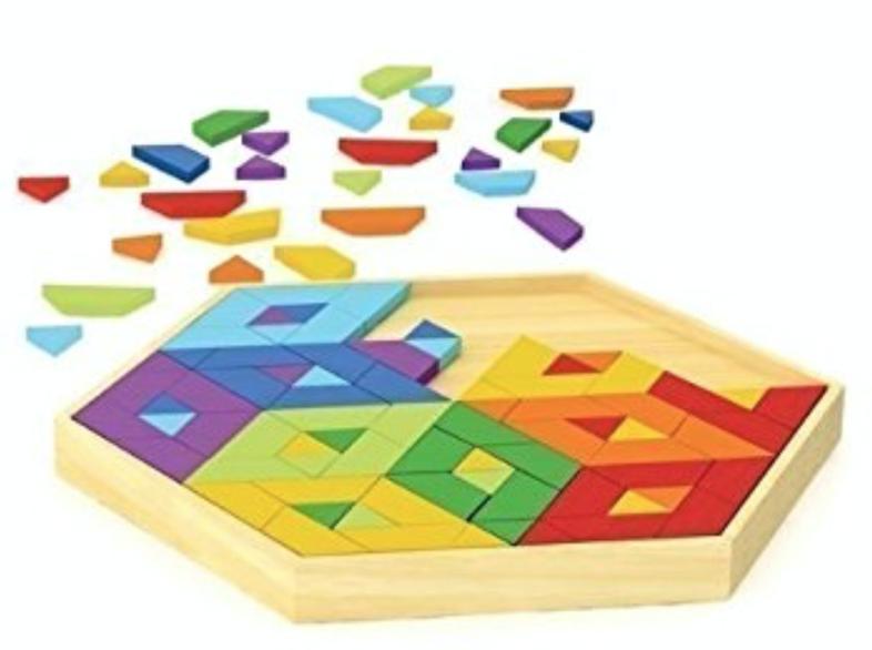 P359: Hape Geo-Form L Geometrics Game