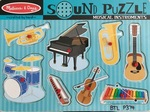 P0374: Melissa & Doug Musical Instruments Sound Puzzle