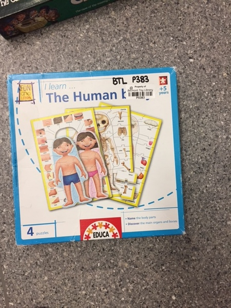 P383: Educa - I Learn the Human Body Puzzles