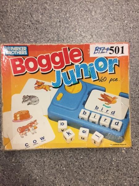 P501: Boggle Junior