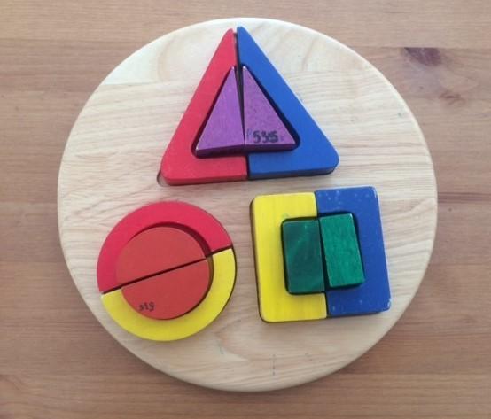 P0535: Shape matching puzzle