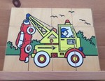 P0035: Tow Truck  Vertical Puzzle