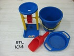 0104: Sand wheel/Sieve/Scoop/Bucket Set/water pump