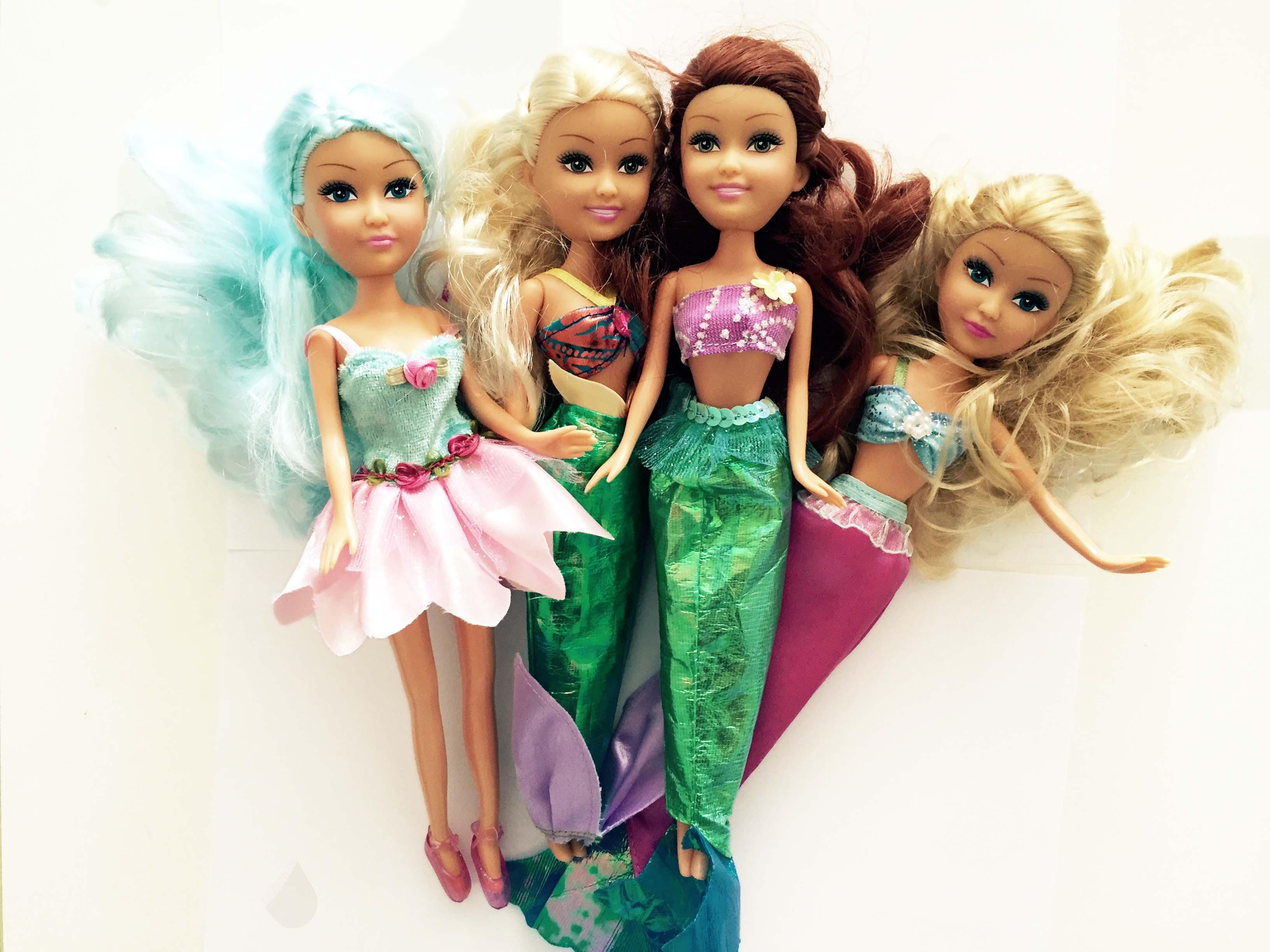 0280: Sparkle Girls Mermaid Dolls