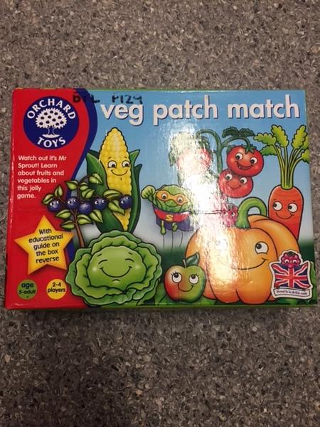 P129: Orchard Toys Veg Patch Match