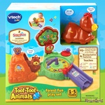 0435: Vtech Toot Toot Animals Forest Fun Play Set